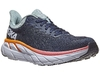 HOKA ONE ONE Clifton 7 Women's Shoes Black Iris/Blue