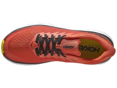 HOKA ONE ONE Clifton 7 Men's Shoes Chili/Black - ASPORTS - Since 1993!