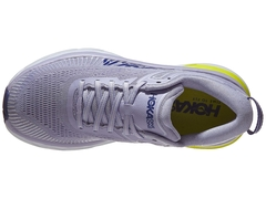 HOKA ONE ONE Bondi 7 Women's Shoes Purple Heather/Blue - ASPORTS - Since 1993!