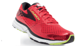 Brooks Launch 4 Men's Shoes Red/Black