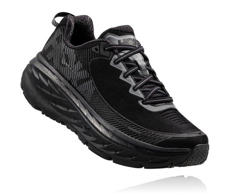 HOKA ONE ONE Bondi 5 Men's Shoes Black
