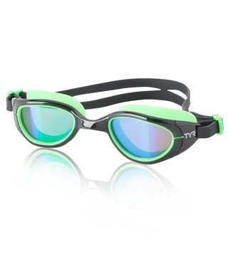 TYR Special OPS 2.0 Polarized Performance Goggle Green Black
