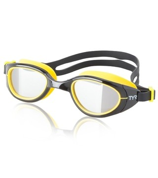 TYR Special OPS 2.0 Polarized Performance Goggle Silver/black/yellow
