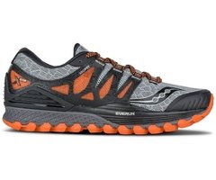 Saucony XODUS ISO mens grey/orange - comprar online