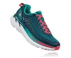 Hoka One One wmns Clifton 4 blue coral - comprar online