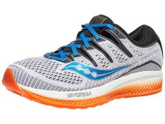 Saucony Triumph ISO 5 Men's Shoes White/Black/Orange