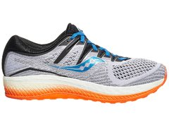 Saucony Triumph ISO 5 Men's Shoes White/Black/Orange - comprar online