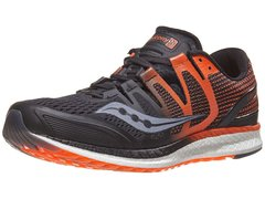 Saucony Liberty ISO Men's Shoes Black/Orange