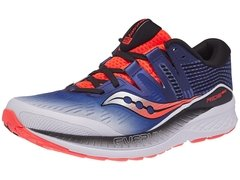 Saucony Ride ISO Men's Shoes White/Blue/ViziRed