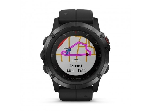 Garmin fenix 5X Plus Sapphire GPS Fitness Watch - comprar online