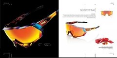 100% SPEEDTRAP Limited Edition Peter Sagan Chromium Red - HiPER Red Multilayer Mirror Lens