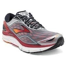 Brooks Transcend 3 Men's Shoes Silver/Orange/Red - comprar online