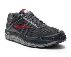 Brooks Addiction 12 Men's Shoes Anthracite/Red/Silver