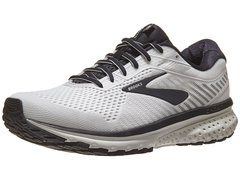 Brooks Ghost 12 Men's Shoes White/Grey/Black