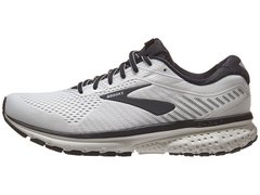 Brooks Ghost 12 Men's Shoes White/Grey/Black - comprar online