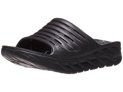 MEN'S HOKA ONE ONE ORA RECOVERY SLIDE black