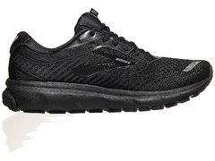 Brooks Ghost 12 Women's Shoes Black/Grey na internet