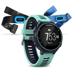 Garmin Forerunner 735XT - Midnight Blue & Frost Blue Tri-Bundle