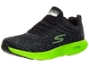 Skechers GOrun 7+ Men's Shoes Black/Lime