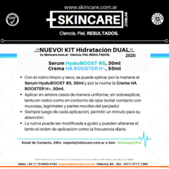 KIT HIDRATACIÓN DUAL:  Serum HyaluBOOST-B5, 30ml + Crema HA BOOSTER H+, 50ml en internet