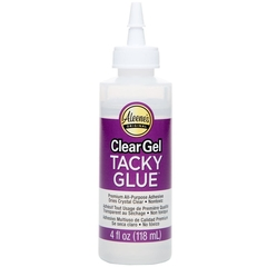 Cola Aleene's Tacky Glue Clear Gel 118ml (Ponta pra cima)