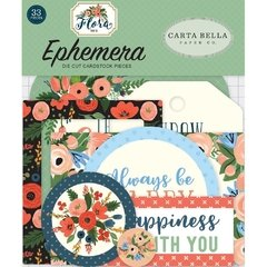 Die Cuts Flora - Carta Bella