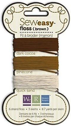 Sew Easy Floss Brown