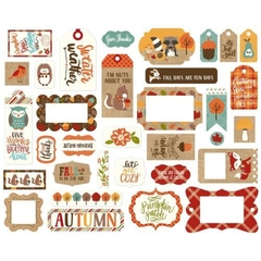 Die cuts Celebrate Autumn - Echo Park - comprar online