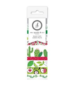 Washi Tape Ms. Sparkle & Co.  -  Green Fruit