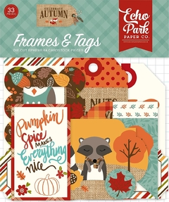 Die cuts Celebrate Autumn - Echo Park