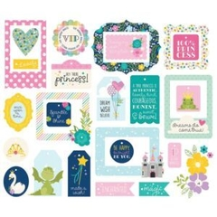 Die Cut Little Princess Simple Stories - comprar online