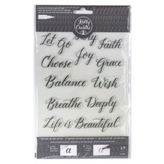 Carimbo Kelly Creates  -  Traceable Quotes Stamps - comprar online