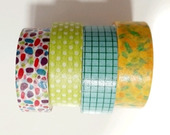 Kit washi tape Menta