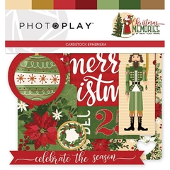 Die Cuts Ephemera PhotoPlay - Christmas Memories
