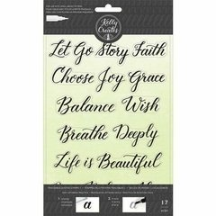 Carimbo Kelly Creates  -  Traceable Quotes Stamps