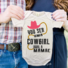 Body de Bebês Cowgirl Igual a Mamãe Country