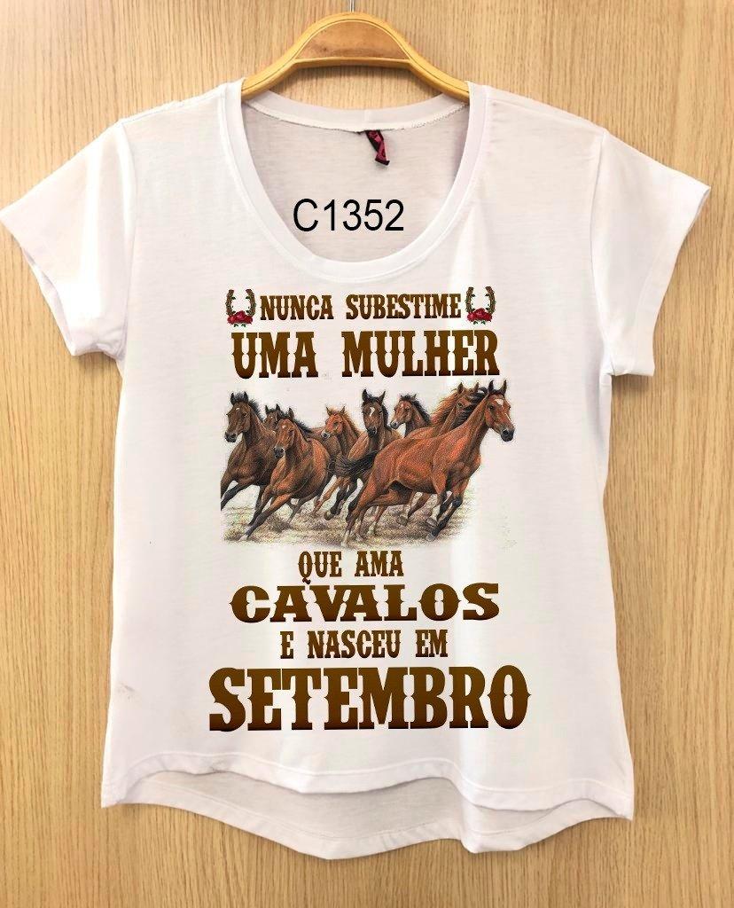 Baby Look Feminina Estampa Country Frase Cowgirl C1352