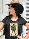 Camiseta Feminina God Bless Cowgirls Bruta C1104