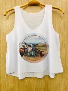 Cropped Country Touro Chifre
