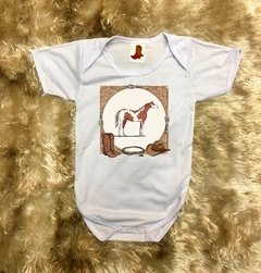 Body Infantil Cavalo Lindo Country