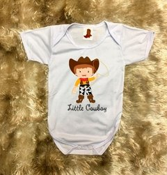 Body Infantil Cowboy Menino Country