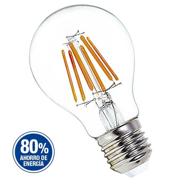 LAMPARA LED A60 FILAMENTO 8W