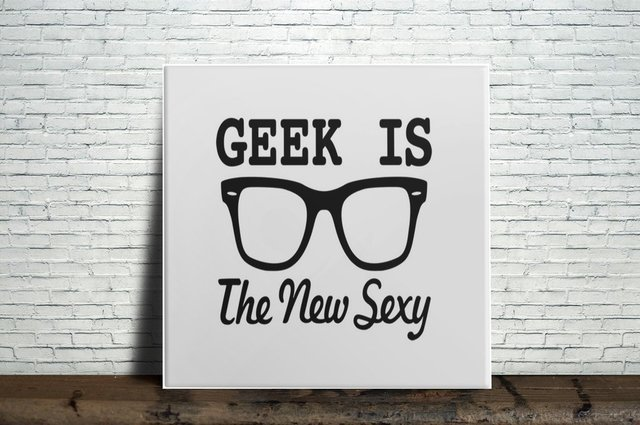Azulejos Decorativos Geeks - Geek is The New Sexy