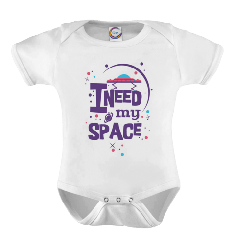 Body Infantil personalizado - I Need My Space