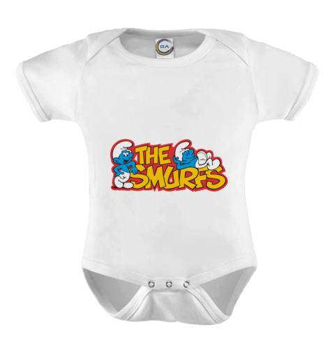 Body Infantil personalizado - The Smurfs