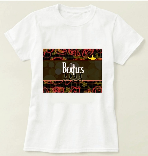 Camiseta  The Beatles - Modelo 1