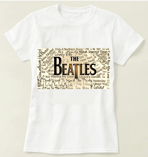 Camiseta  The Beatles - Modelo 3