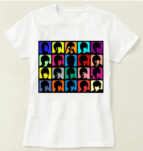 Camiseta  The Beatles - Modelo 4