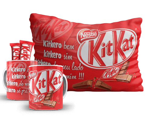 Kit de Páscoa Chocolate Kit Kat