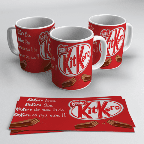 Caneca Chocolate Kit Kat